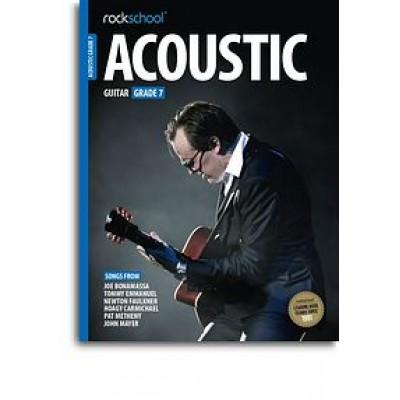 Rockschool Acoustic Guitar - Grade 7 (2016) (Book/Online Audio)