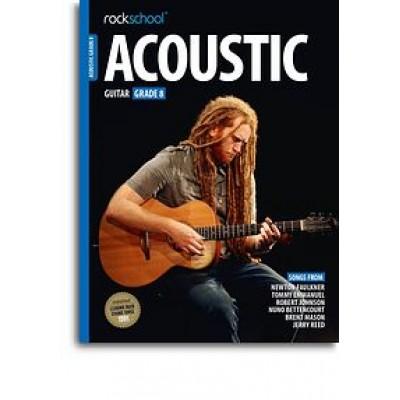Rockschool Acoustic Guitar - Grade 8 (2016) (Book/Online Audio)