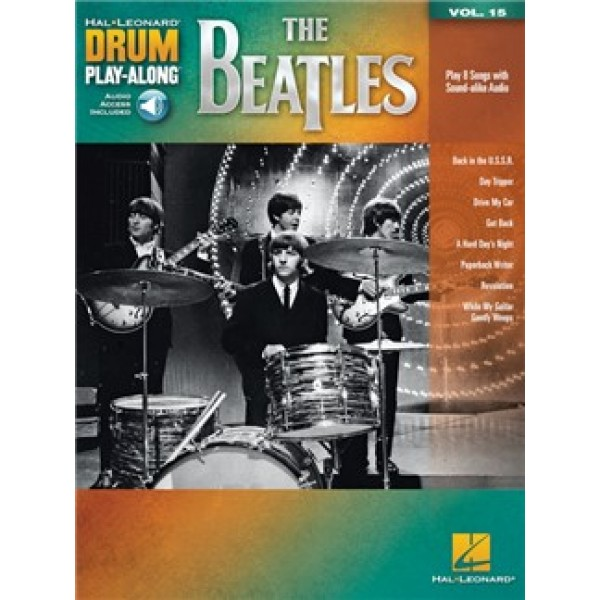 Drum Play-Along Volume 15: The Beatles