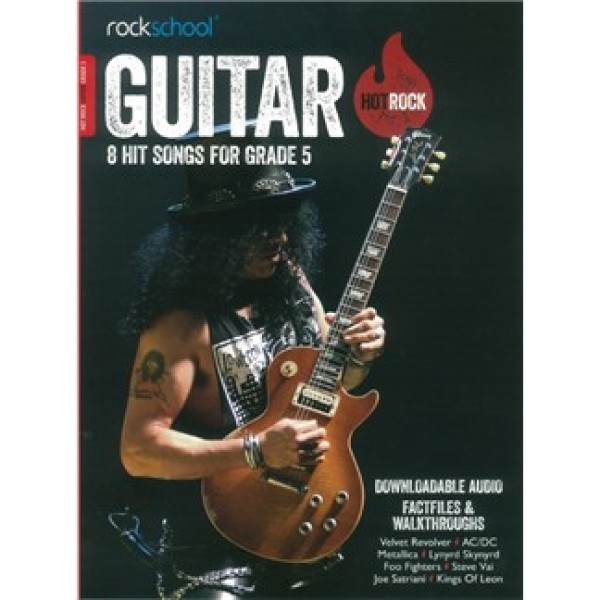Rockschool: Hot Rock Guitar - Grade 5 (Book/Online Audio)