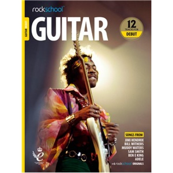 Rockschool: Guitar Debut 2018+ (Book/Audio)