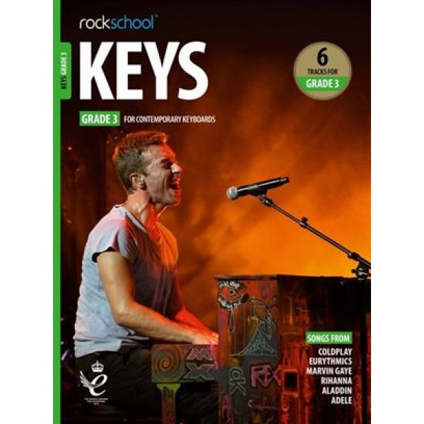 Rockschool Keys Grade 3 - (2019)