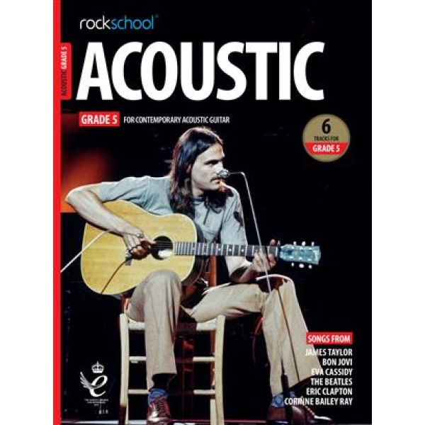 Rockschool Acoustic Guitar Grade 5 - (2019)