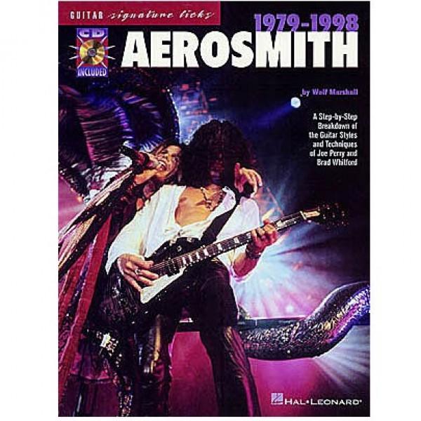 AEROSMITH 1979 - 1998 SIGNATURE LICKS