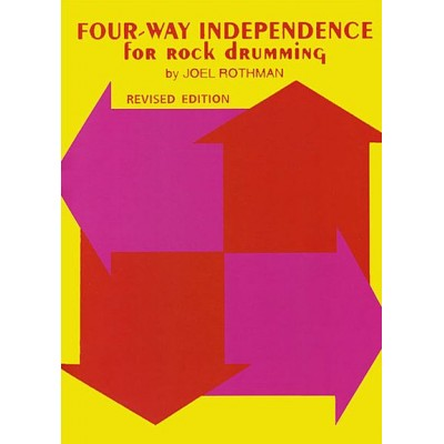 Four-Way Independence For Rock Drumming Joel Rothman
