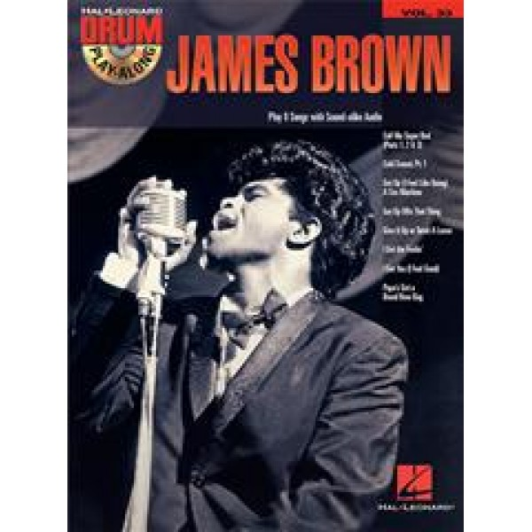 Drum Play-Along Volume 33 James Brown