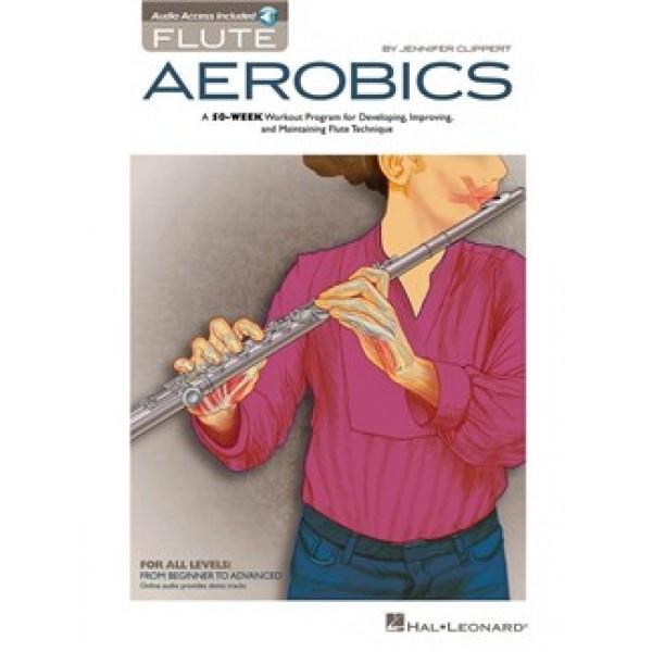 Jennifer Clippert: Flute Aerobics (Book/Online Audio)