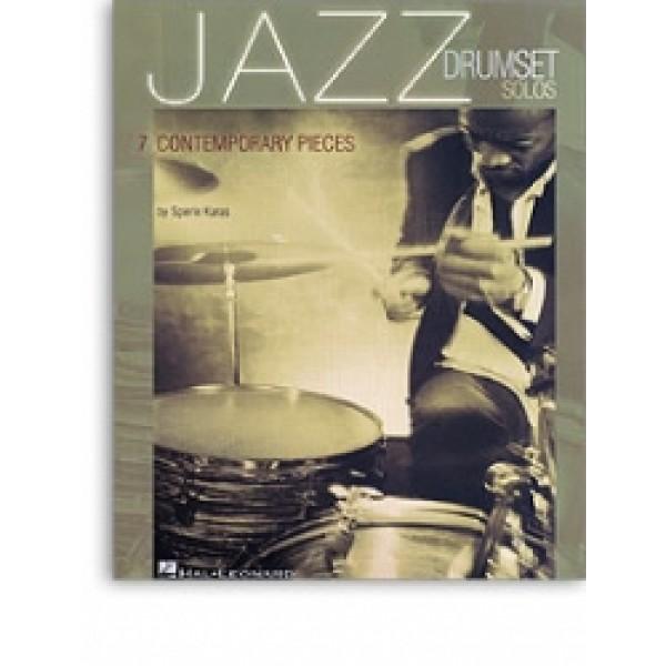 Jazz Drumset Solos: 7 Contemporary Pieces