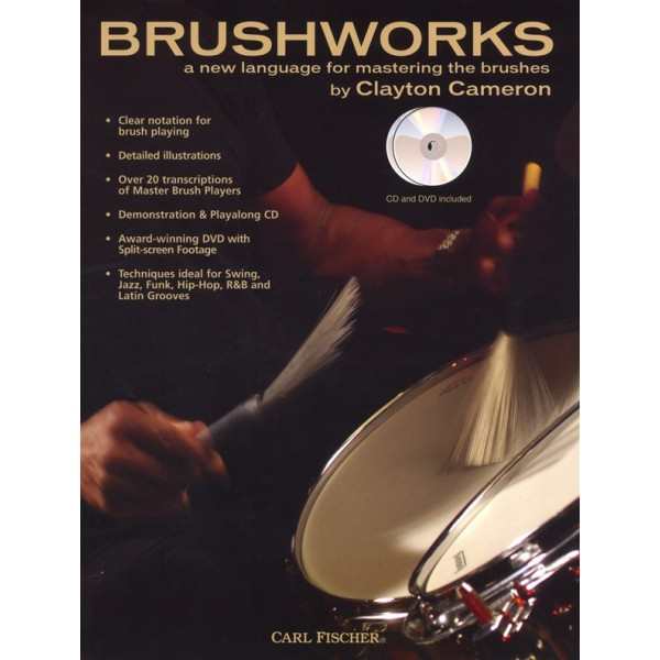Brushworks Clayton Cameron (Book/DVD/CD)