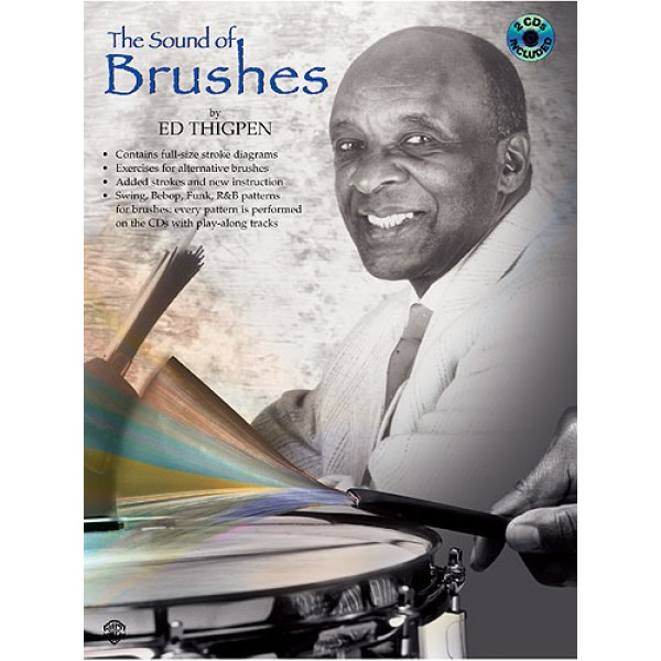 The Sound Of Brushes By Ed Thigpen Book/2cd