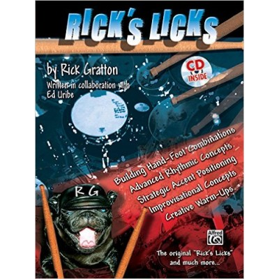 Rick's Licks: Book/CD