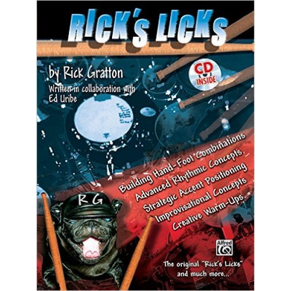 Rick's Licks: Book/CD