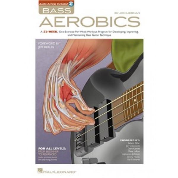 Jon Liebman: Bass Aerobics (Book/Online Audio)
