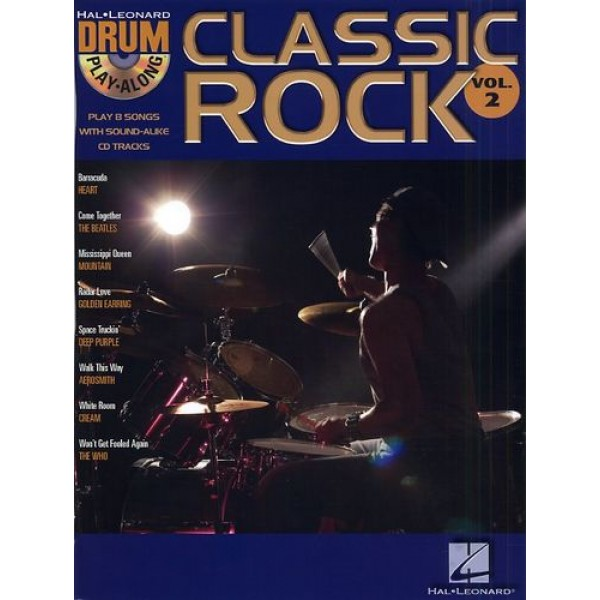 Drum Play-Along Volume 2: Classic Rock