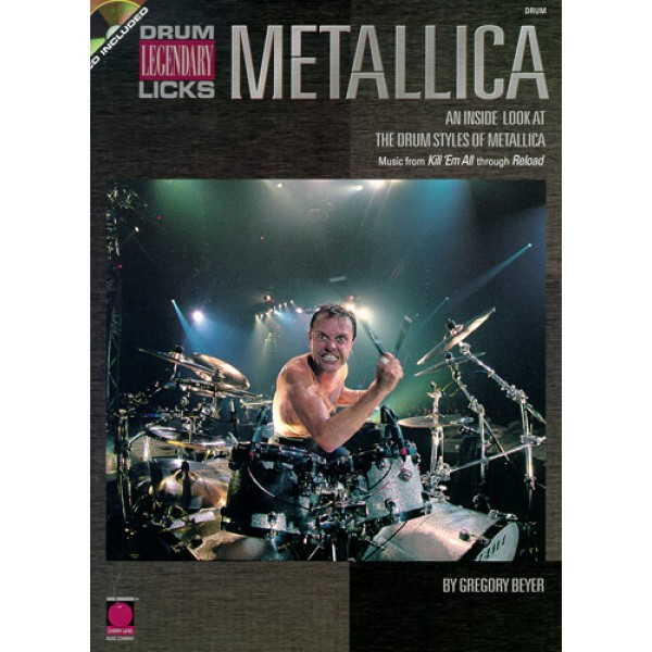 Metallica Legendary Licks Drums