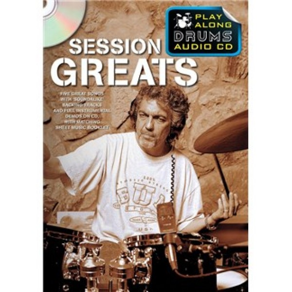 Play Along Drums Audio CD: Session Greats