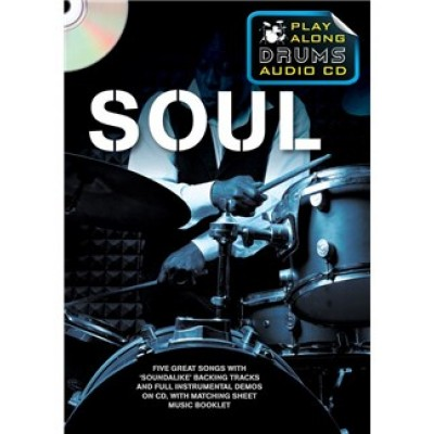 Play Along Drums Audio CD: Soul