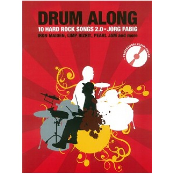 Drum Along - 10 Hard Rock Songs 2.0 (Book/CD)