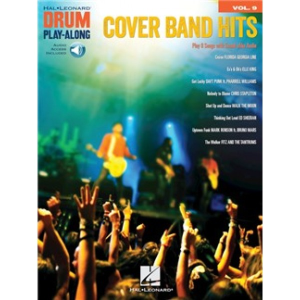 Cover Band Hits: Drum Play-Along Volume 9