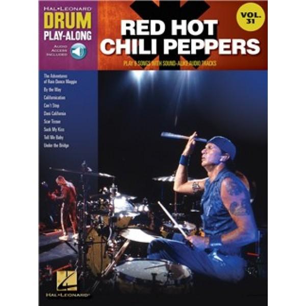 Drum Play-Along Volume 31: Red Hot Chili Peppers