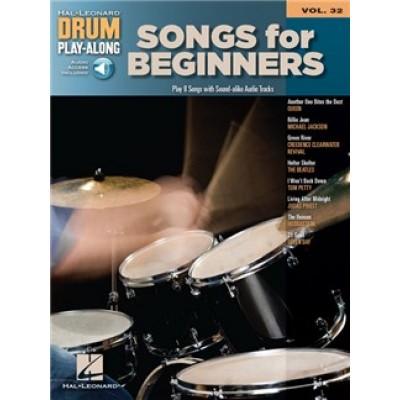 Drum Play-Along: Volume 32 (Book/Online Audio)