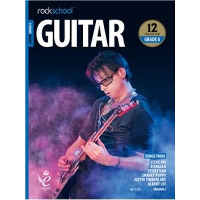 Rockschool: Guitar Grade 8 2018+ (Book/Audio)