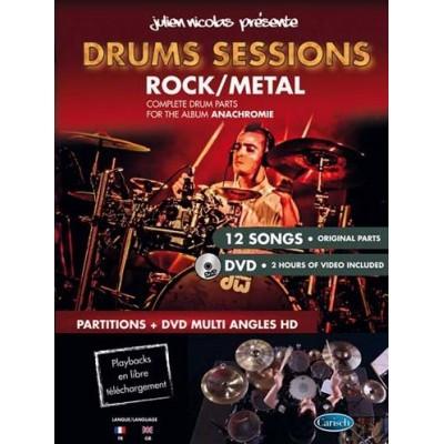 Drums Sessions Drums Bk/Dvd