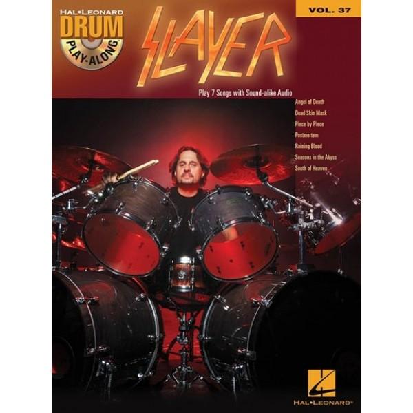 Drum Play-Along Slayer Volume 37: (Book/CD)