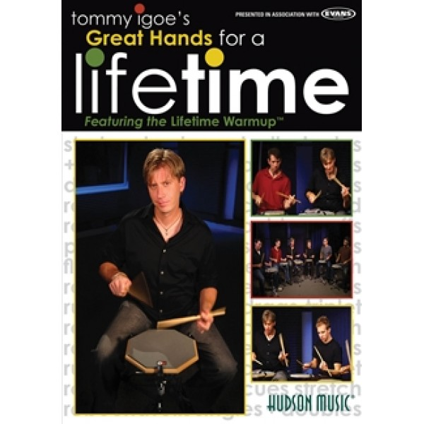 Tommy Igoe - Great Hands for a Lifetime DVD