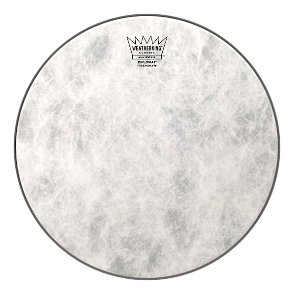 Remo 18'' Classic Fit Fiberskyn Diplomat Bass Drum