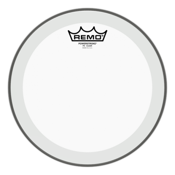 Remo  8'' Powerstroke 4 Clear