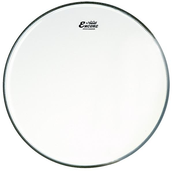 Encore by Remo 20'' Ambassador Clear Bass Drum