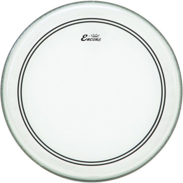 Encore By Remo 20'' Powerstroke 3 Clear Bass Drum