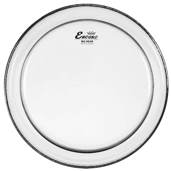 Encore By Remo 18'' Pinstripe Clear Bass Drum