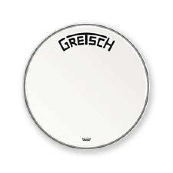 Remo 20'' Ambassador Coated Bass Drum Gretsch logo