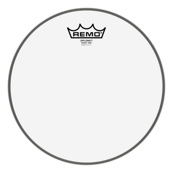 Remo 14'' Diplomat Hazy Snare Side