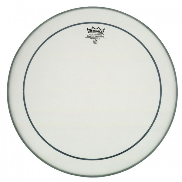Remo 24'' Pinstripe Coated Bass Drum