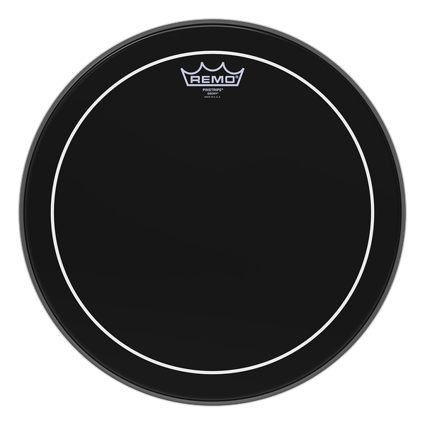 Remo 26'' Ebony Pinstripe Bass Drum