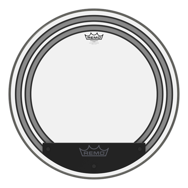 Remo 20'' Powersonic Clear Bass Drum
