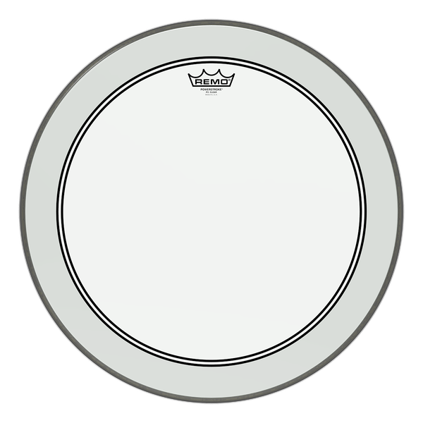 Remo 16'' Powerstroke 3 Clear Bass Drum