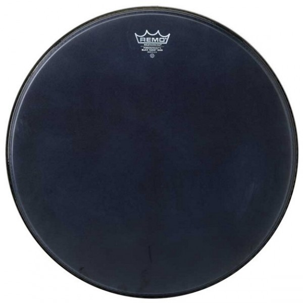 Remo 18'' Black Suede Powerstroke 3 Bass Drum