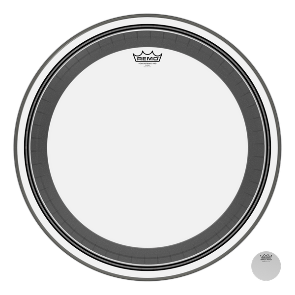 Remo 20'' Powerstroke Pro Clear Bass Drum