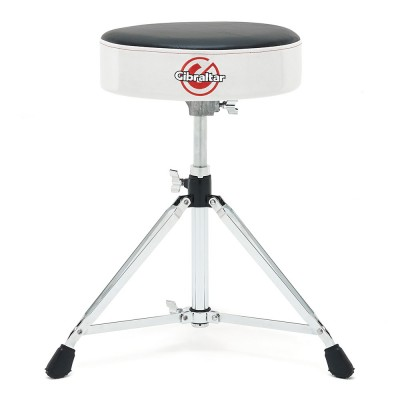 Gibraltar 6608RSW White Sparkle Finish  Drum Throne