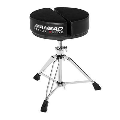 Ahead SPG-ARTB Round Black Spinal-G Drum Throne