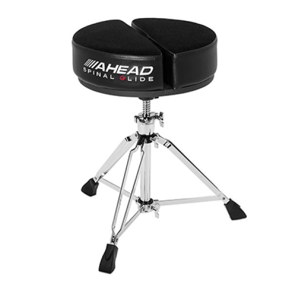 SPG-ARTB Round Black Spinal-G Drum Throne Ahead