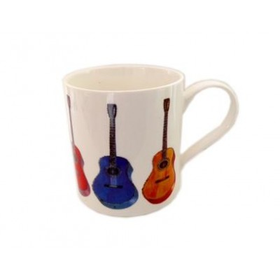 Fine China Mug - Allegro - Acoustic Guitar