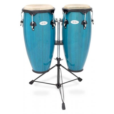 2300BB Toca Synergy Series Wood Conga Set with Stand