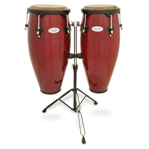 Toca 2300RR Synergy Series Wood Conga Set with Stand