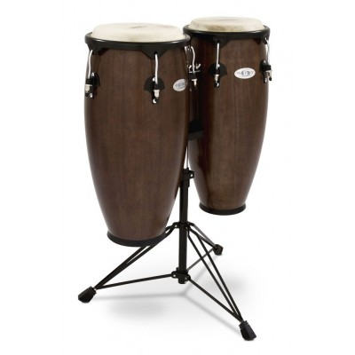 Toca 2300TOB Synergy Wood Conga Set with Stand