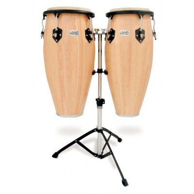 Toca 2800N Player's Series Wood Conga Set with Double Stand